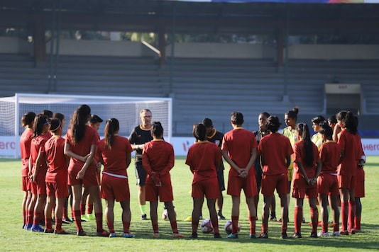 File: India U-17 Women's Football Team (Photo Credit: AIFF)