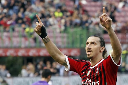 Zlatan Ibrahimovic at AC Milan (Photo Credit: Reuters)