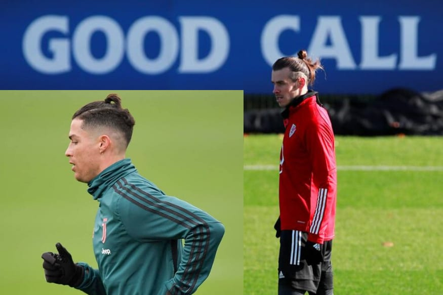 On Cristiano Ronaldo S New Hairstyle Twitter Sees A Gareth Bale