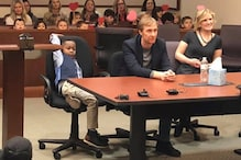 Kindergarten Boy's Entire Class Showed up to Witness His Adoption Hearing Ceremony