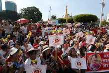 'We Stand With You, Mother': Myanmar Rallies in Support for Suu Kyi as She Faces UN Genocide Charges