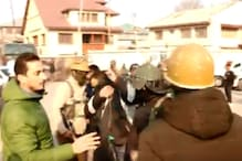 J&K Police Rough up Journalists at Protest Against Citizenship Act in Srinagar, Caught on Camera