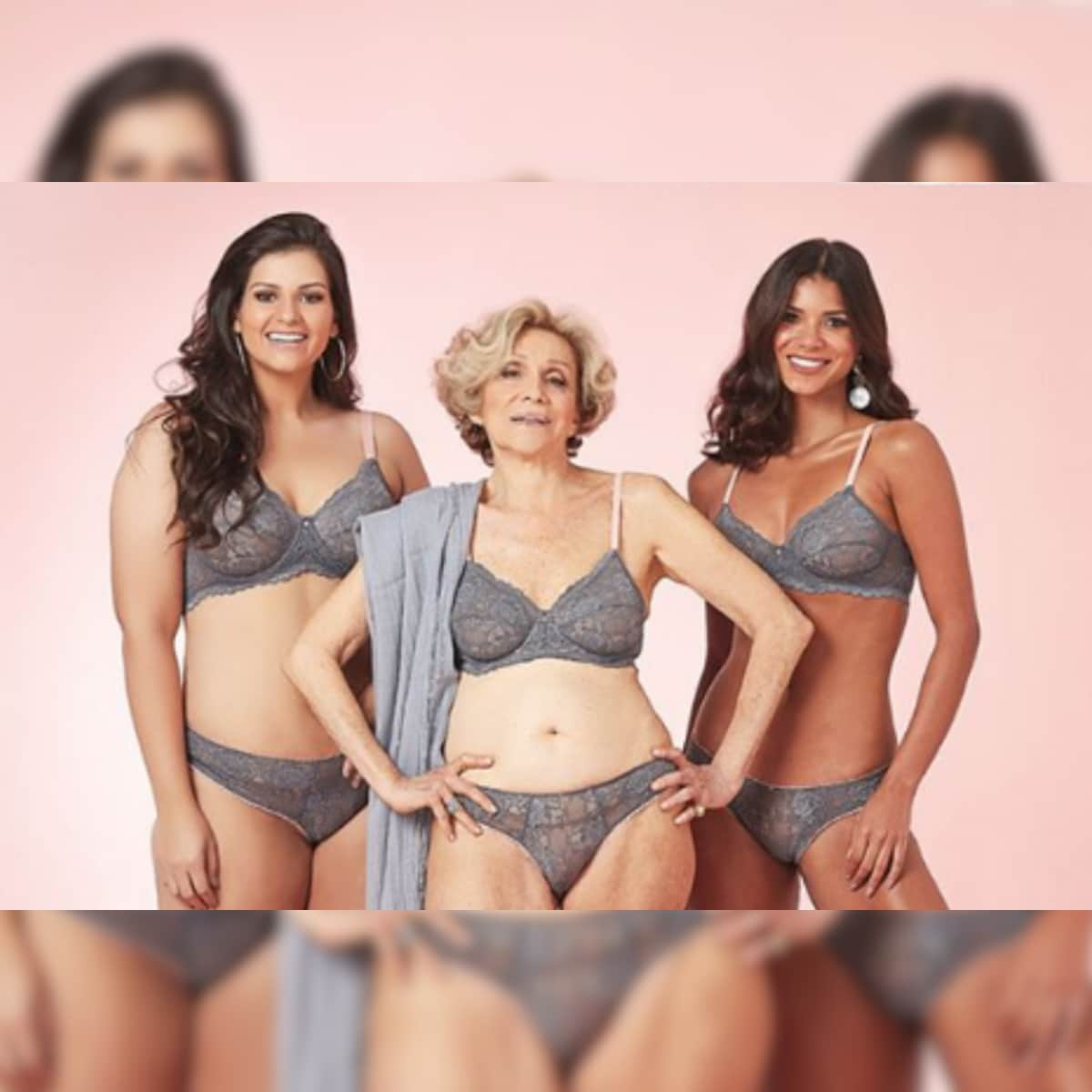 Granny big ass photos Brazil S 79 Year Old Granny Turns Lingerie Model Wants To Make Elderly Women Visible