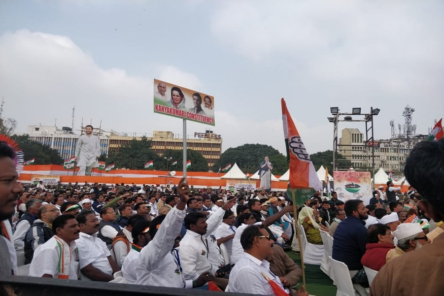 Citizenship Act, Unemployment, Inflation: Crowd at Cong's Bharat Bachao Rally Have Too Many Concerns