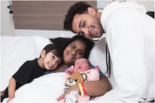 Aayush Sharma Shares First Pictures of Baby Girl Ayat with Arpita Khan, See Here