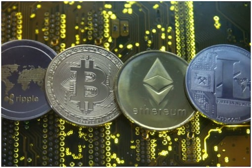 Representative image of bitcoin, ethereum and ripple – popular cryptocurrencies that are traded globally. (Photo: Reuters)