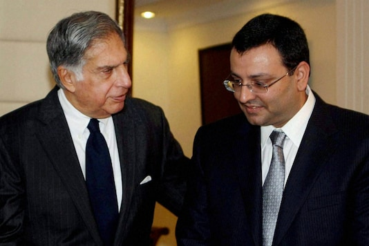 File photo of Cyrus Mistry with Ratan Tata. (Reuters)