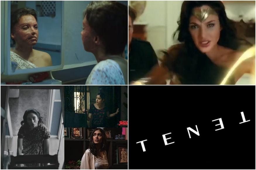 Trailers This Week: Wonder Woman 1984, Chhapaak, Tenet, Ghost Stories and More
