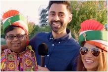 Watch: Hasan Minhaj Poses with Indian Origin Heckler Who Called Him 'Anti-India'