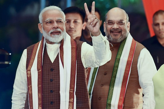 File photo of PM Narendra Modi and home minister Amit Shah. (PTI photo)