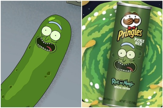 'Pickle Rick' featured in the third episode of the third season of 'Rick and Morty' | Image credit: Twitter