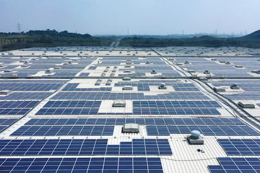 Solar panels. (Image source: VW)