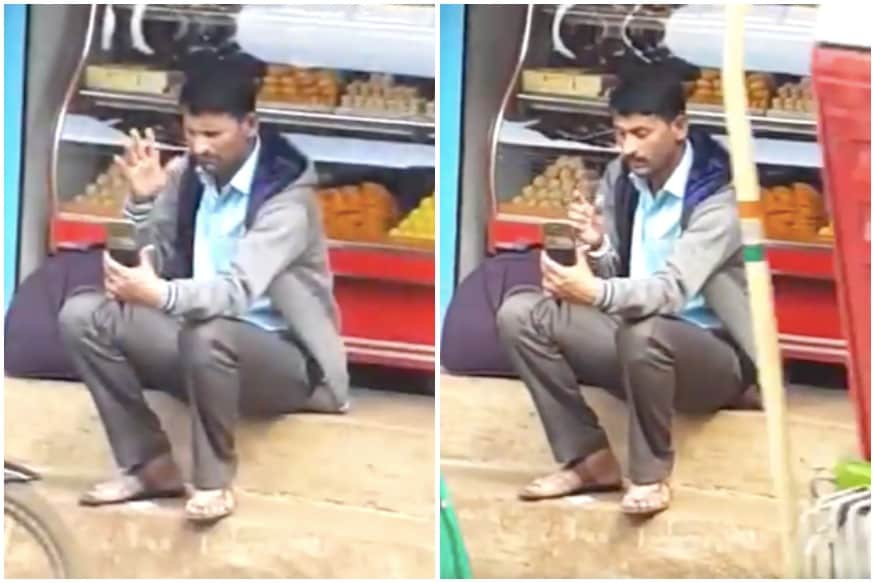 Watch: Clip of Indian Man Video-calling in Sign Language Impresses Anand Mahindra - News18 thumbnail