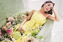 Amy Jackson Takes 'Lockdown Flower Baths' to 'Next Level'