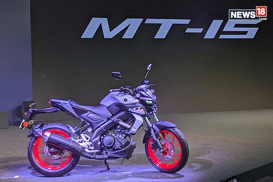 New Yamaha MT-15 BS-VI. (Photo: Manav Sinha/News18.com)