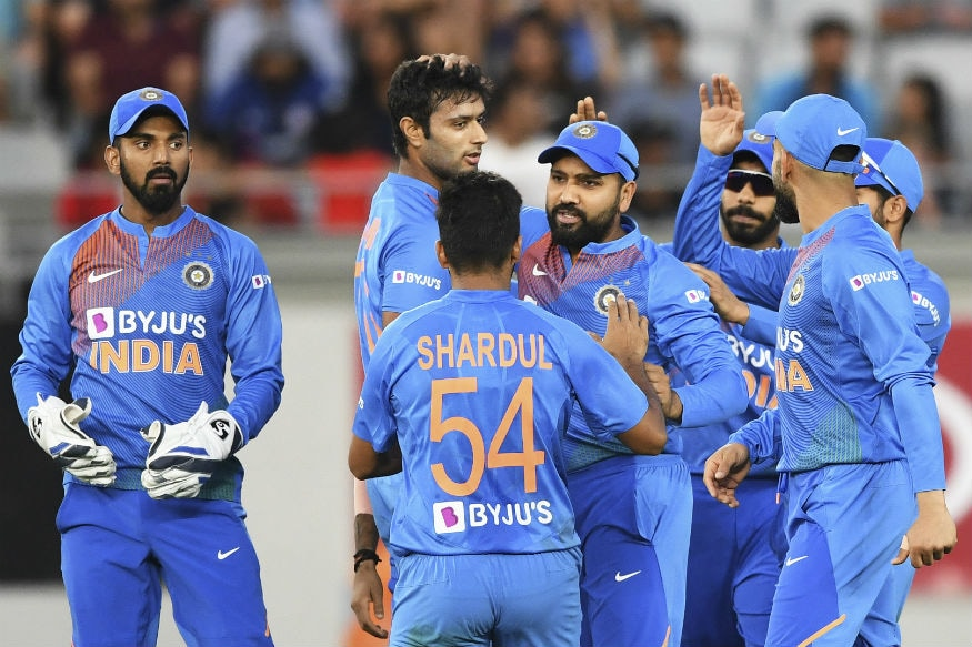In Pics, India beat New Zealand in First T20I in Auckland