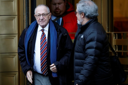 A file photo of lawyer Alan Dershowitz. (Reuters)