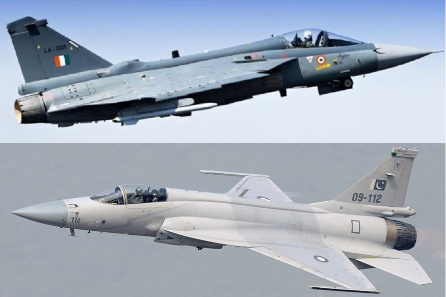 Image result for jf thunder 17 and indian tejas