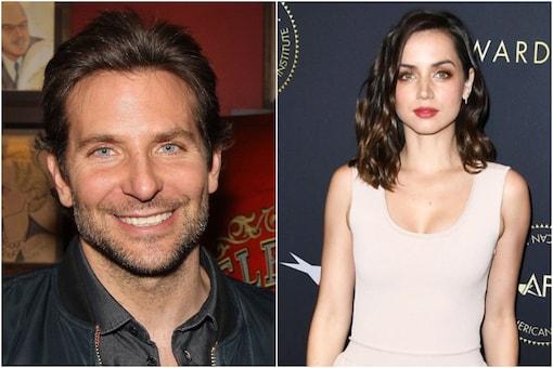 Bradley Cooper (L), Ana De Armas (R)