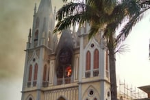 Flames Engulf Century-old Historic Cathedral in Equatorial Guinea