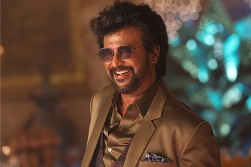 Rajinikanth in a still from the film Darbar.