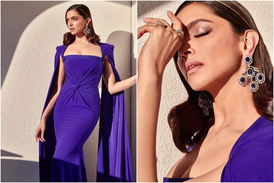 Deepika Padukone Oozes Grace in a Stunning Blue Gown at WEF 2020 Crystal Awards
