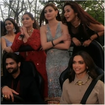 Deepika Padukone took contestants out for a joyride
