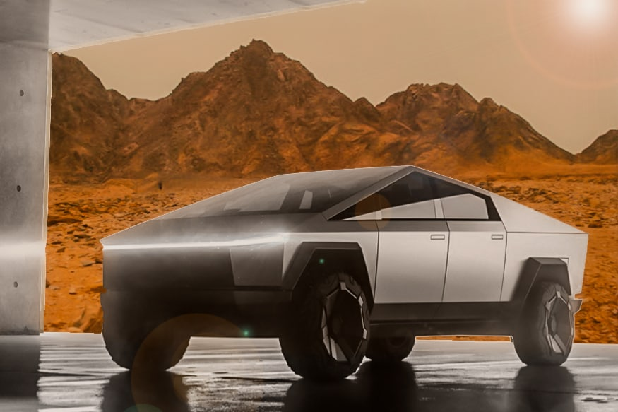After Tesla Roadster, Musk Could Send a Cybertruck to Mars
