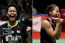 Indonesia Masters 2020: Local Hero Ginting Win Men's Singles Title, Intanon Beats Marin in Final