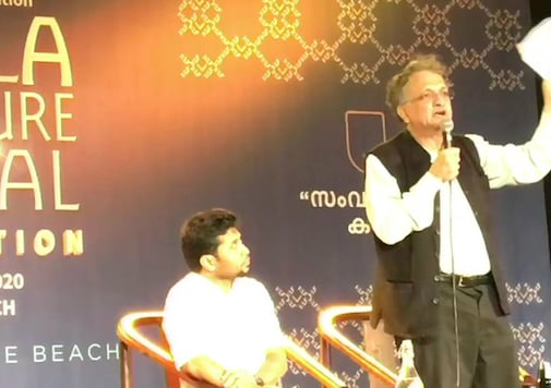 Historian Ramachandra Guha on the second day of the ongoing Kerala Literature Festival (KLF)