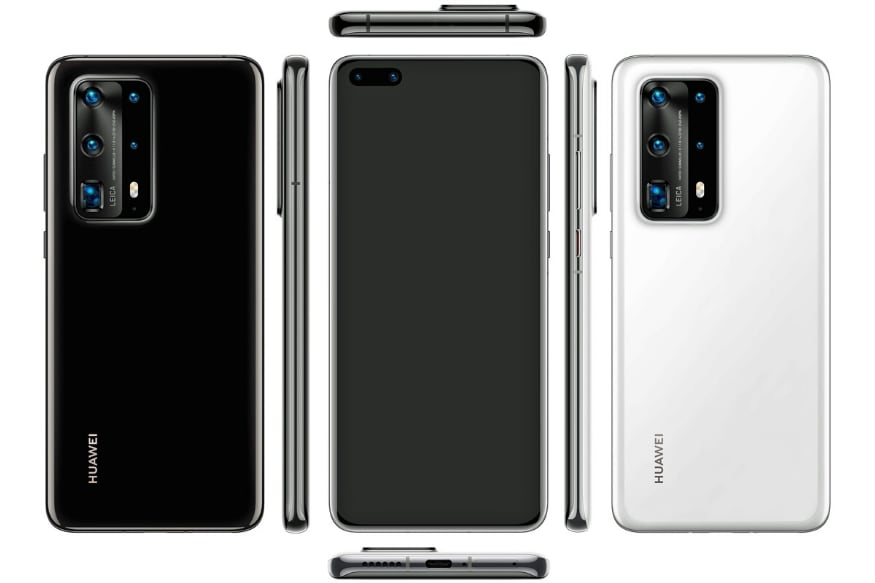 Huawei P40 Pro: Leaked Images Shows 5-Camera Rear Bump