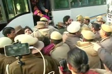 Students Protesting Outside Delhi Police Headquarters Against Jamia University Firing Removed