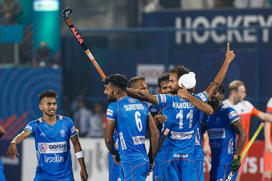 Indian men's hockey team (Photo Credit: @TheHockeyIndia)
