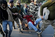 Bullet Fired at Anti-CAA March in Jamia, One Hurt; Suspect Held