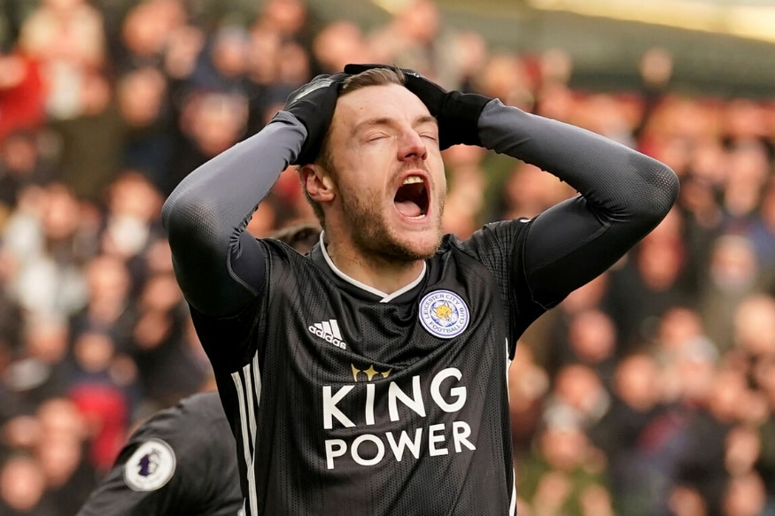 Premier League: Jamie Vardy Misses Penalty as Burnley Stun Leicester City With Late Goal