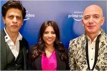 In Pics: Amazon Chief Jeff Bezos Meets Bollywood Stars, Filmmakers