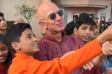 Makar Sankranti 2020: Amazon CEO Jeff Bezos Flies Kites with Children in Delhi