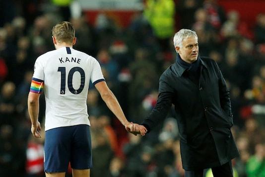 Jose Mourinho and Harry Kane. (Photo Credit: Reuters)
