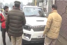 Mahindra Scorpio Driver with MP Sticker, Loud Hooter Hurls Abuses at UP Police SSP, Fined