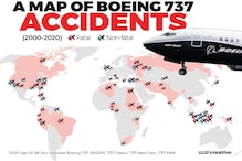 A Look at All Boeing 737 Plane Crashes in the Past Two Decades - Infographic