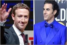 Sacha Baron Cohen Criticises Mark Zuckerberg for 'Spreading Nazi Propaganda' at Golden Globes 2020