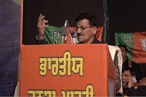 Former Punjab Transport Minister Master Mohan Lal.