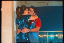 Nehha Pendse Shares New Year's Kiss with Fiance Shardul Bayas, See Pic