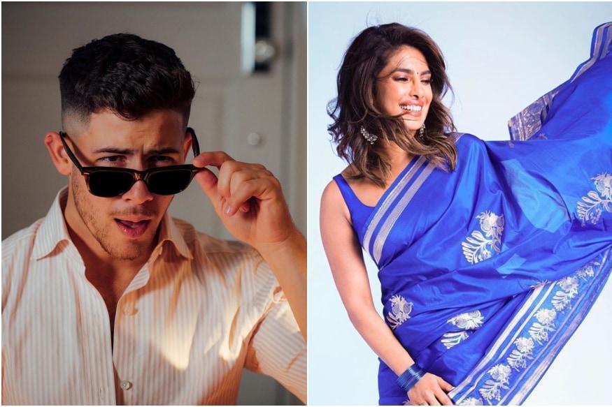 Nick Jonas Gushes Over Priyanka Chopras Saree Look, See