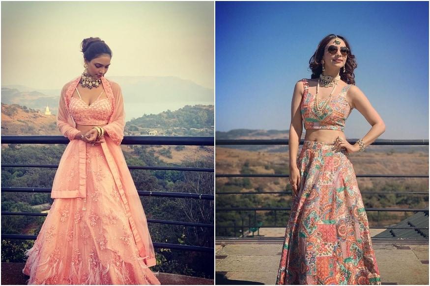 Kasautii Zindagii Kay's Pooja Banerjee is a Sight to Behold at Friend's Wedding, See Pics