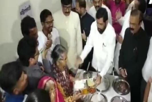 Maharashtra government rolled out 'Shiv Bhojan' scheme to provide meals  in the state. (Image: Twitter/ANI)