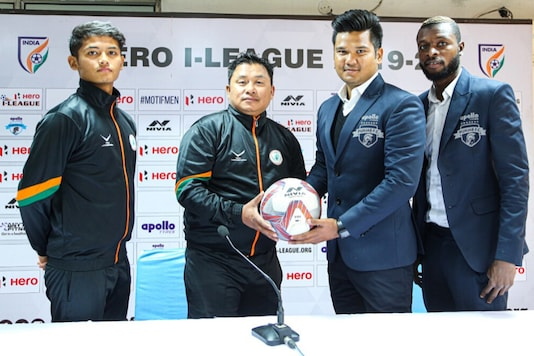 Punjab FC host Neroca FC in the I-League. (Photo Credit: AIFF)