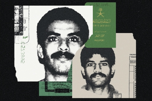 A photo illustration shows US visas for Khalid al-Mihdhar and Nawaf al-Hazmi, two of the 9/11 hijackers. (Photo Illustration by Mark Weaver/The New York Times)