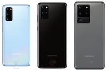 Samsung Galaxy S20 Series Press Renders Reveal Camera Details