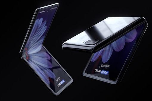 The Samsung Galaxy Z Flip (Image: gizmochina.com)